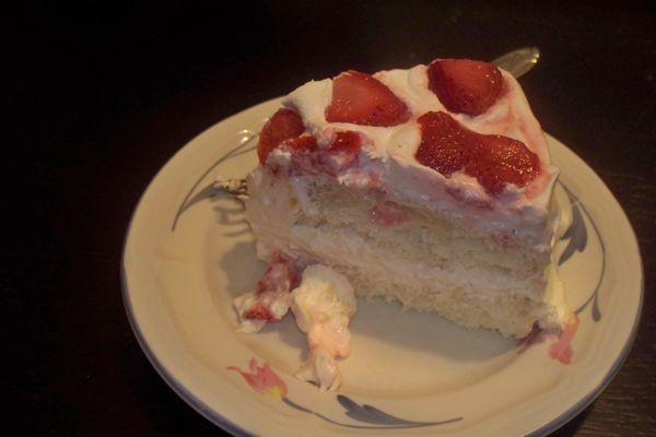 Strawberry Seraph Cake